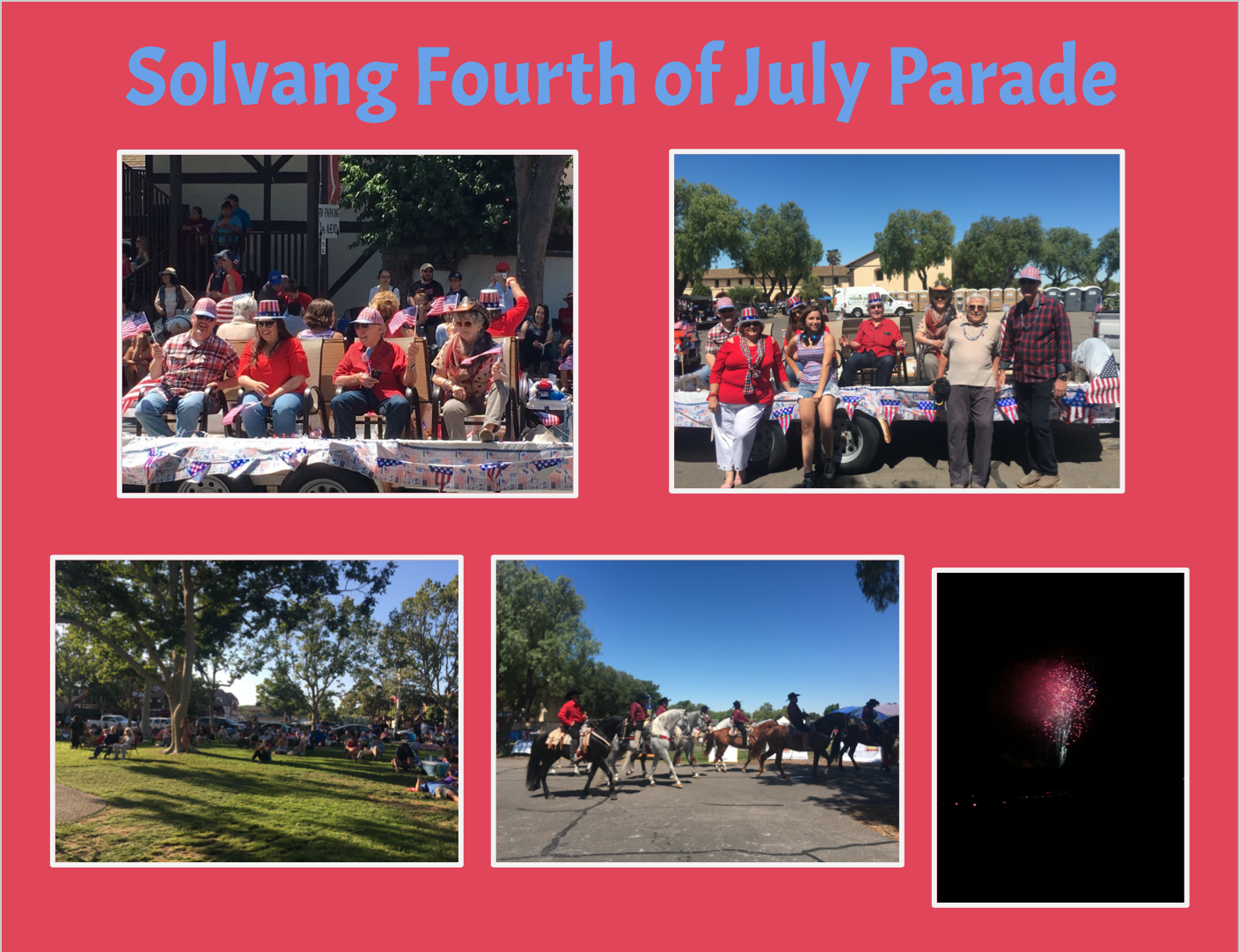Solvang Fourth of July Parade