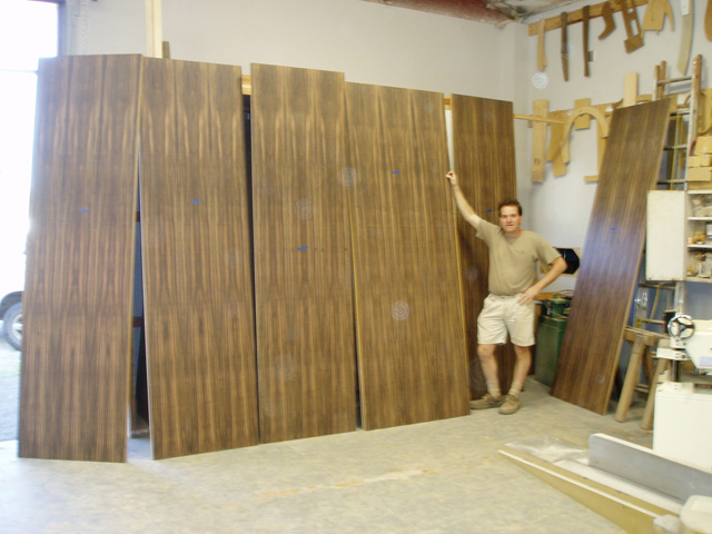 Custom-woodworking-macasser-ebony-veneered-panels