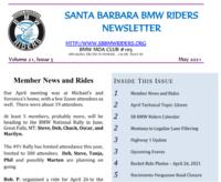 SBBMW Riders Newsletters 2021