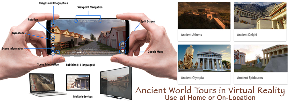 Tour Ancient Worlds in VR while at Home or On-Location