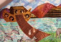 Amelia's Noah's Ark Tallit
