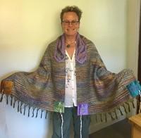 Nicole's silk woven tallit