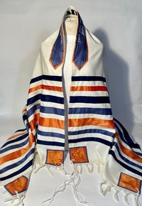 Abe's full size traditional tallit
