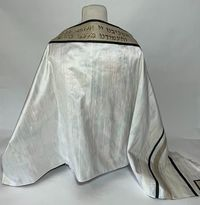 Ruby's lined unique tallit