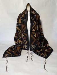 Isaiah's African fabric tallit