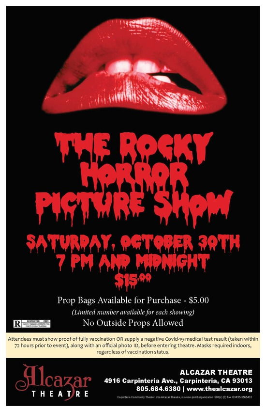 The Rocky Horror Picture Show  7pm screening