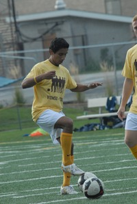 TOCO and Valpo Men's Soccer Team