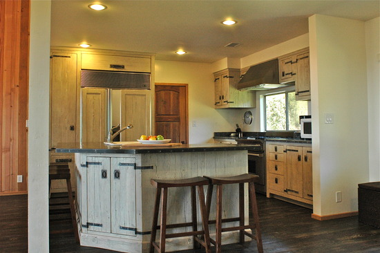 Rustic, classy remodeled kitchen