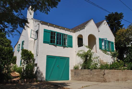 SOLD!  Spanish Cottage in Santa Barbara