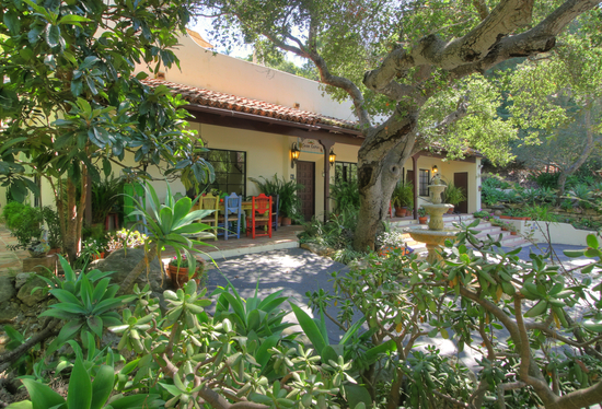 SOLD!!! Spanish Gated Estate in Santa Barbara