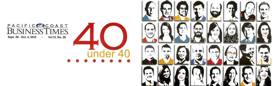 Santa Barbara Architects - Clay Aurell Wins '40 Under 40' For Business Accomplishments