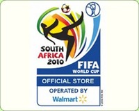 Walmart to operate 2010 FIFA World Cup Event Stores