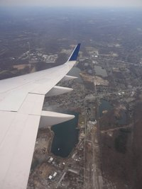 Our View from the airplane