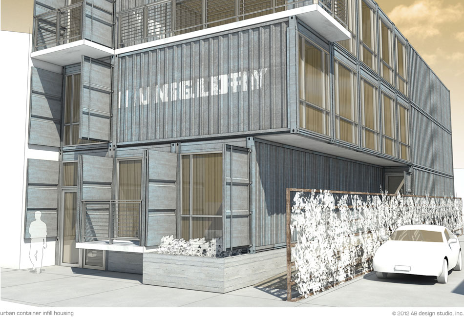 Urban Container Infill Housing
