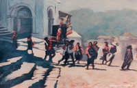 Procession, Chichicastenango