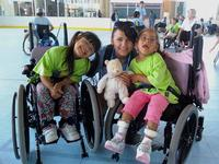 UCSB Wheelchair Camp and Maria!