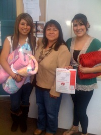 Ana, Luciana Gallegos, & Sandra. Thank you Luciana for that info on the Migrant Education Program!