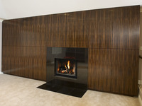 Montecito Macasser Ebony Fireplace Surround