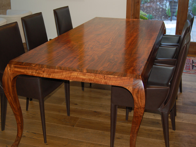 Fine-custom-handmade-walnut-dining-table
