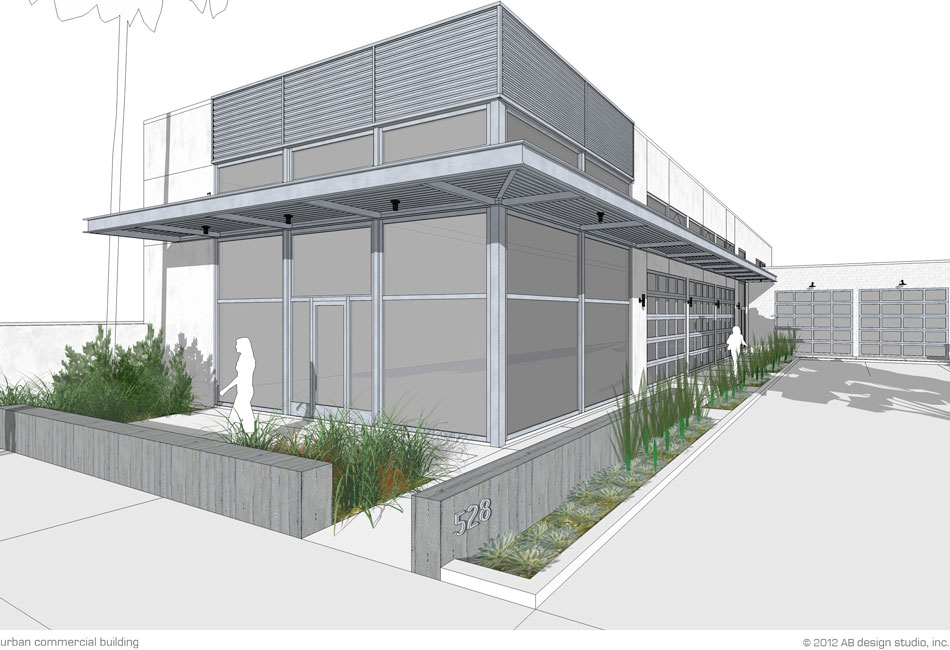 Urban Commercial Building