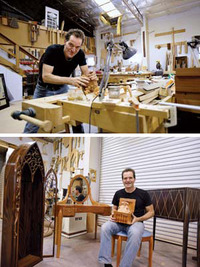 Builder of dreams : Nipomo woodworker turns ideas into treasures