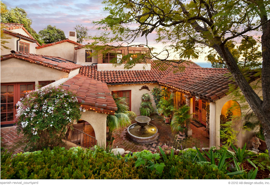 Spanish Revival Residence