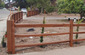 carpentry fencing split rail solid panel