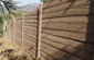 fireproof timbercrete fence no maintenance