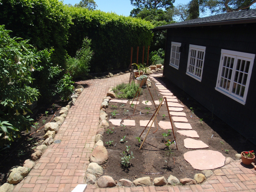 Flagstone Stepping Stones Home Food Forest
