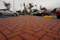 Brick Paver Installation Commercial Detail