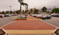 Commercial Brick Paver Installation Plaza