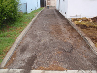 Paver Driveway 9 Before
