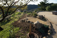 DG Pathway Patio Sandstone Flagstone Stairs Mountain Hillside Path