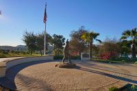 FireFighter Memorial SBC Fire Department Paver Mandala Flagstone Circle of Honor