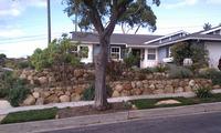 Sandstone Terrace Walls