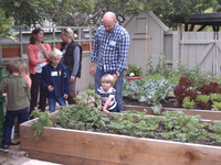 childrens food garden