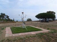 City CIMIS weather station lawn irrigation install