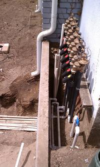 irrigation valve manifold ASVs