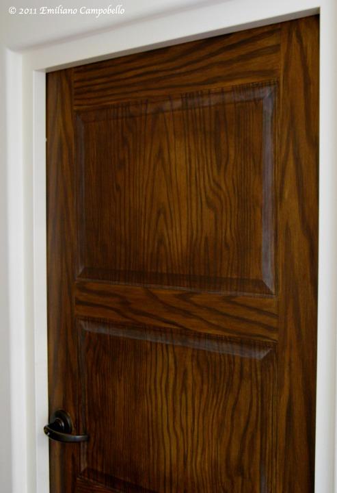 Trompe l'oeil Panel Door
