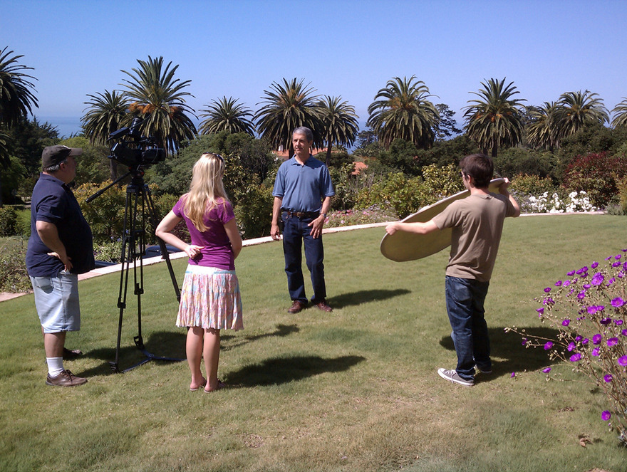 City TV filming buffalograss video