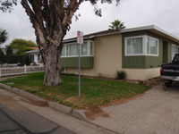 BEFORE- Beachside cottage- front lawn