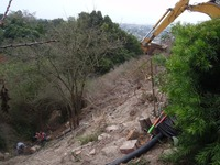 steep slope stabilization erosion control drainage