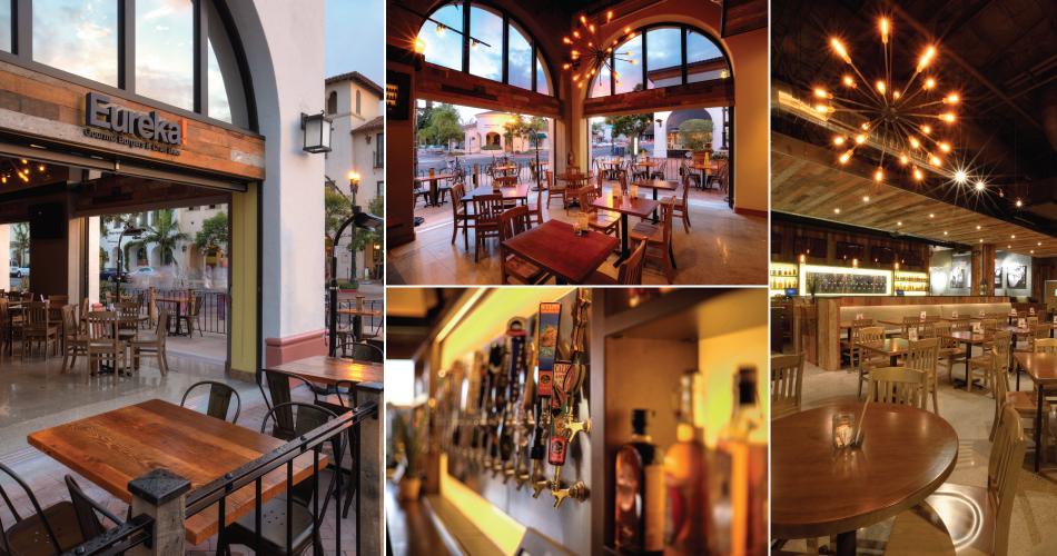 Commercial Architects - Eureka! Burger Restaurant in Santa Barbara