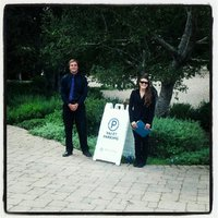 BlueStar Parking proud to work with Mindy Weiss Events and the San Ysidro Ranch this 2012 wedding season!