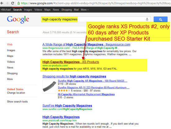 SEO for Small Business - BIG Results in only 60 days
