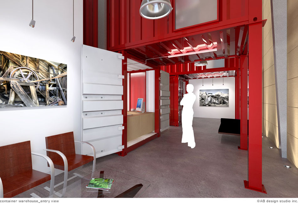 Container Office Design container office interior design example | rbservis