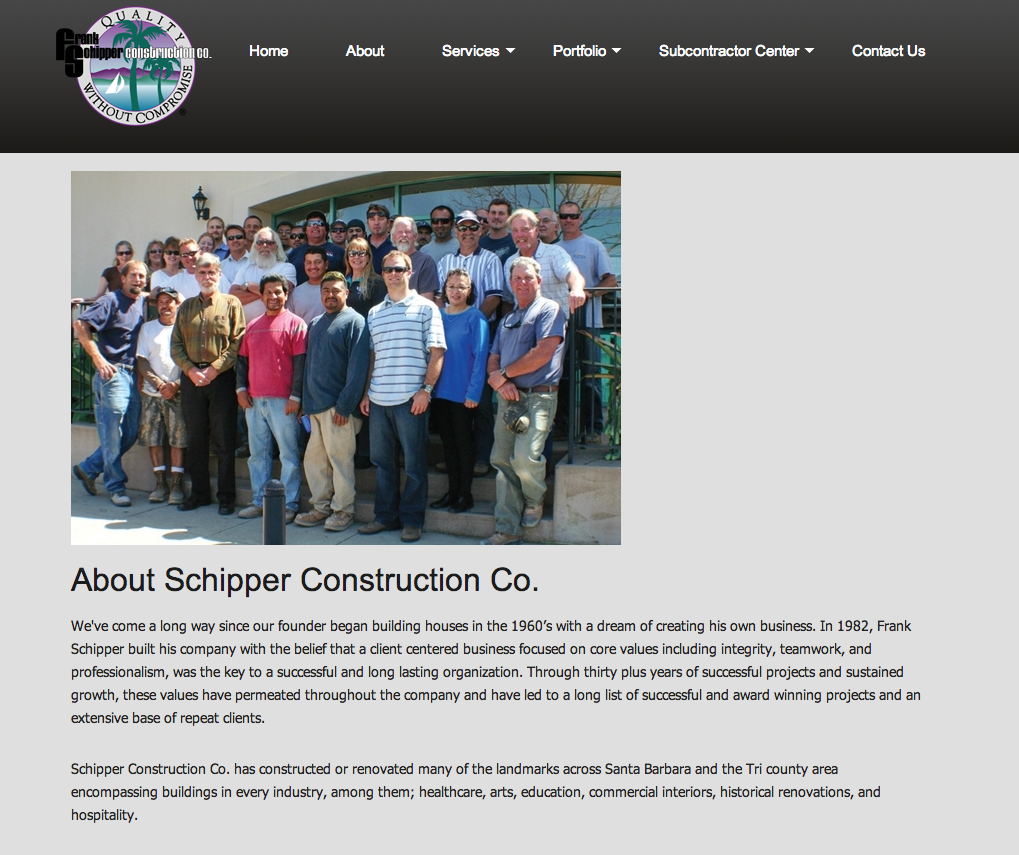 Schipper Construction Santa Barbara