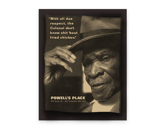 Powell's Place Ad