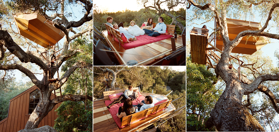 Treehouse | Nesting and Boating Above the Ground, Santa Barbara