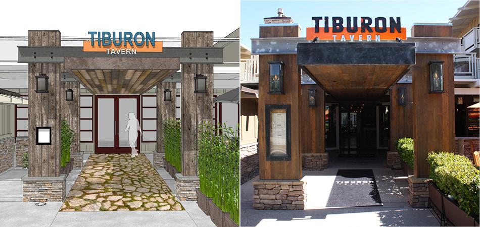 Architectural Entry | Tiburon Tavern at the Tiburon Hotel